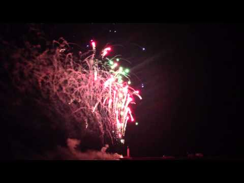 Grand Bend Canada Day Fireworks 2013