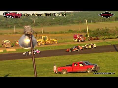 Sport Modified/305 Sprint Heats - Park Jefferson Speedway - 5/26/18