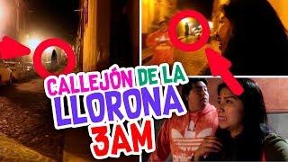 UNA NOCHE Durmiendo en la CALLE 👹 Vimos a la LLORONA 😱Terror Fantástico - Vloggeras Fantásticas