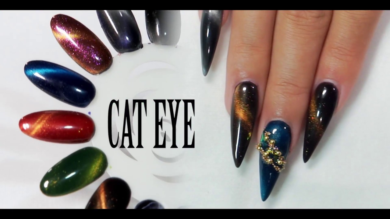 Simple and Fun With Cat Eye Design - YouTube