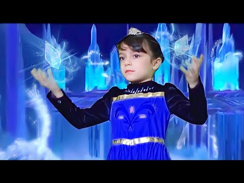 Let it go  ♥ FROZEN COVER ♥ by Leti­cia (6 y.o.) (Brazilian Portuguese)