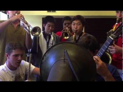 "Cylinder Recording Session: St. Stephen's Jazz Combo: ""Joe Avery's Blues"""