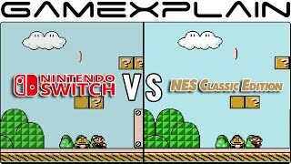 Nintendo Switch Online vs. NES Classic - Head-to-Head Emulation Comparison