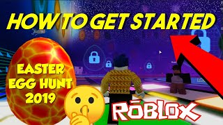 ROBLOX EASTER EGG HUNT 2019 - How to Get Started (Scrambled in Time)