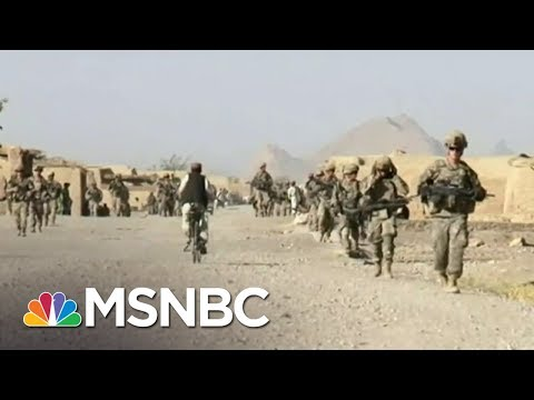 Trump Admin To Announce Intent To Withdraw Thousands Of Troops From Afghanistan | MSNBC