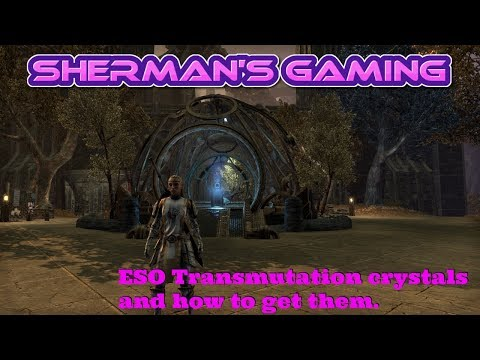 ESO Transmutation Crystals And How To Get Them.