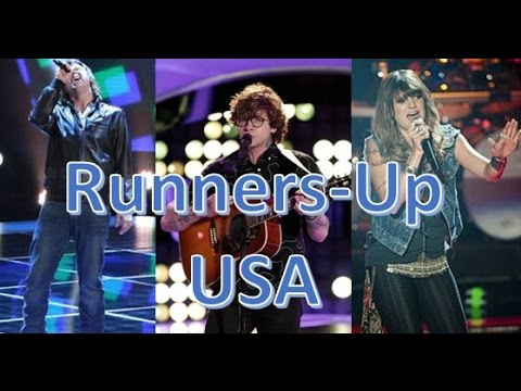 All RUNNERS-UP Blind Auditions   Season 1-10   The Voice USA