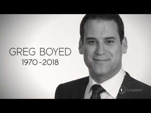 TVNZ personality Greg Boyed dies while on holiday