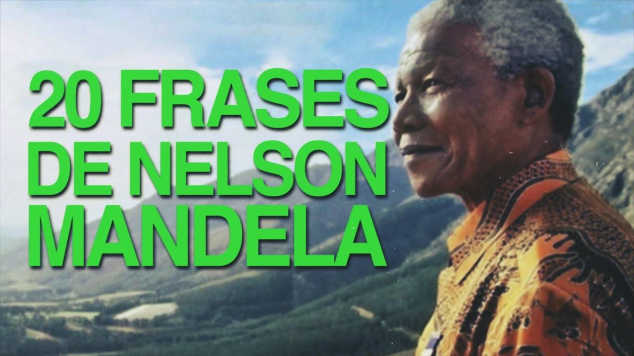 20 Frases De Nelson Mandela Para Conseguir La Paz
