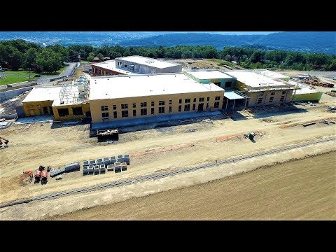 DJI Inspire 1 Drone with Another Allegany High School Update 082617 Watch in 4k!