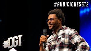 Maxwell Johnson hace comedia de su condición al hablar /👅 | Dominicana´s Got Talent 2020