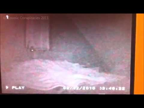 Incredible alien abduction during sleep cctv