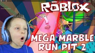 Roblox: MEGA MARBLE RUN PIT #2 . JEU D'ENFANT