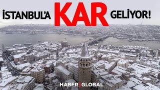 İstanbul'a ne zaman kar yağacak? - HAVA DURUMU
