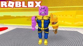 Roblox - La FACTORIA DE THANOS (con MANOPLA INFINITIVO)!! -Roblox Super Hero Tycoon 🎮