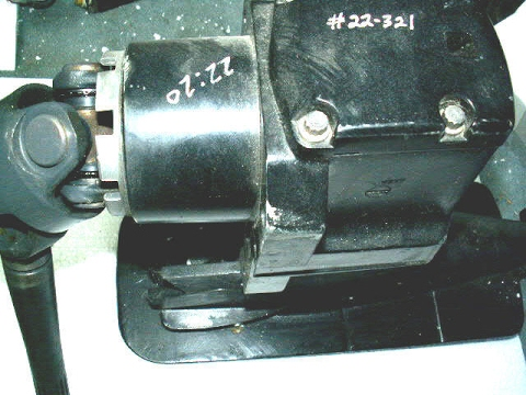 How do I replace my oil seals in a Mercruiser Alpha one gearcase
