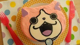 簡単「ジバニャン・デコケーキ 」Jibanyan Deco Cake thumbnail