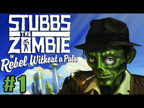 Stubbs the Zombie - Episode 1 - WE RISE AGAIN!