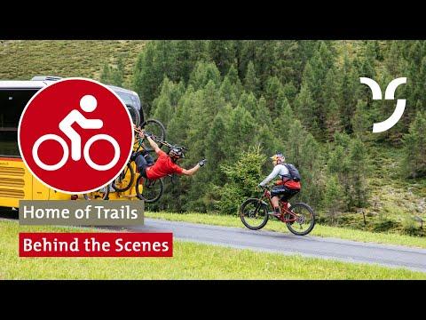 Danny MacAskill & Claudio Caluori «Home of Trails»: Behind the Scenes
