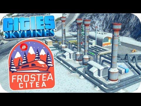Triple Dams Heating Freezing Citizens! - Cities: Skylines ❄️Project Dam Snow!❄️#7