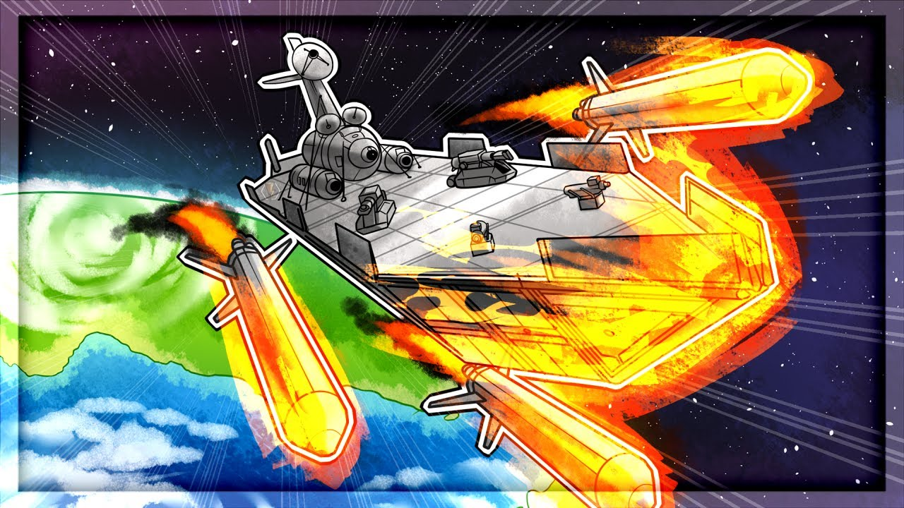 Download LAUNCHING The ULTIMATE Warship in Kerbal Space Program