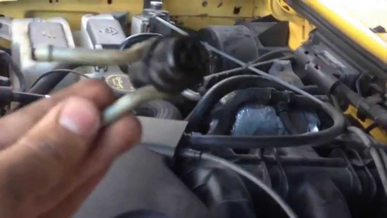 small resolution of ford ranger 2001 pcv valve replacement