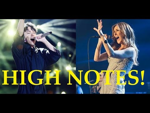 Male Singers Hitting Female Singers High Notes! Pt 2