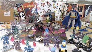 Подарки от подписчиков - Бетмен, Звездные войны Лего Журнал, Боевые роботы, Супергерои и Комиксы