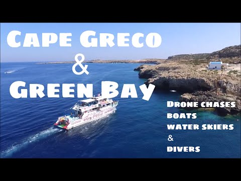 Summer 2017 | Cape Greco and Green bay in Protaras, Cyprus | Drone footage