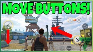 MOVE BUTTONS! CUSTOMIZE LAYOUT!! | Rules of Survival