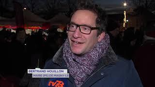 Magny-les-Hameaux : le parvis étaient en fête pour Noël
