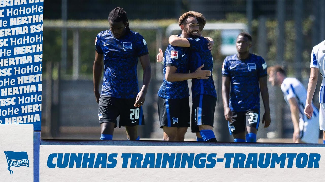 BAAAM! Cunha mit Marcelinho-Traumtor | Hertha BSC