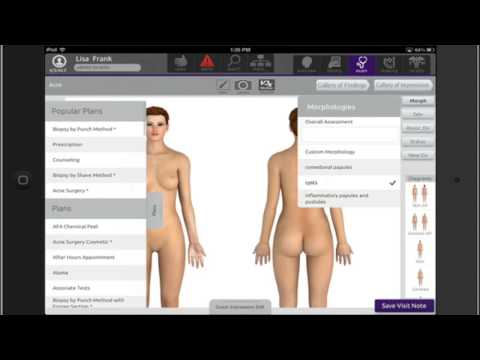 Dermatology EMR System: Outcomes Visualize Treatment Data Over Time