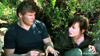 Uncut 'kiss' Improv - The Hunger Games - BLOOPERS [a parody]