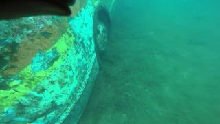 Me & friend scuba diving at fantasy lake part 1