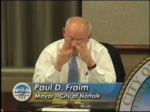 Work 04/24/12 Session - Norfolk City Council