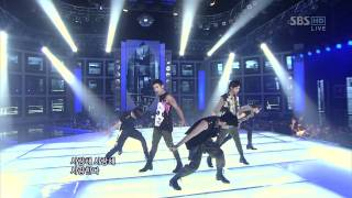 110717 MBLAQ - Mona Lisa (Inkigayo)