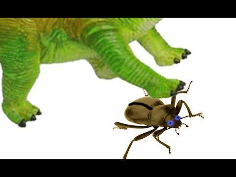 Динозавры и ЖУК. Хочу быть ДИНОЗАВРОМ! Насекомые мультик. Театр игрушек. Мурзик ТВ