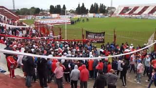 .final del partido y salida hinchas e himno del club atletico los andes