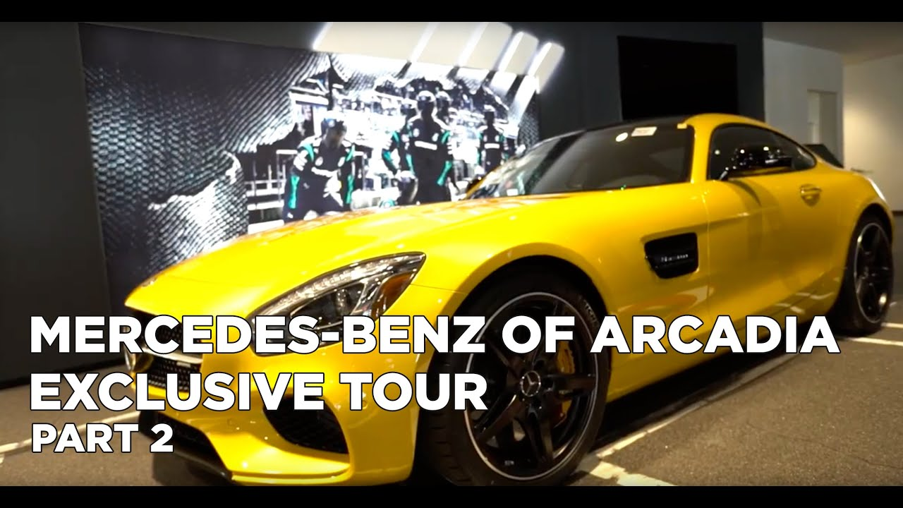 Mercedes benz inside look showroom amg performance for Mercedes benz arcadia