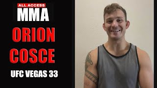 Orion Cosce Talks UFC Debut July 31st, Battling Injuries & Love For The Outdoors