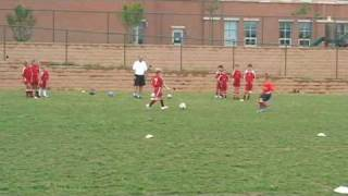 Youth Soccer Training Games STEAL THE BACON
