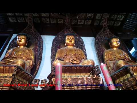 JULIANA'S WORLD TRAVEL & TOURS: Celebrity Millennium: Temples in Shanghai, China