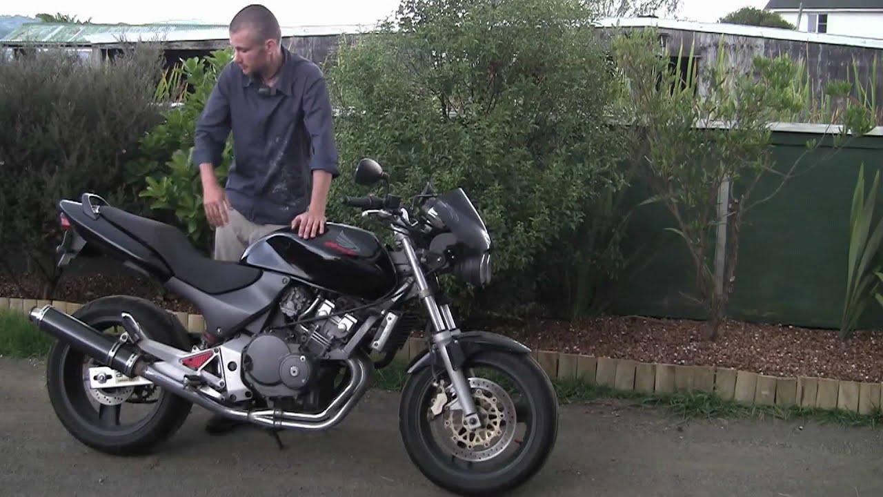 Honda hornet 250cc youtube