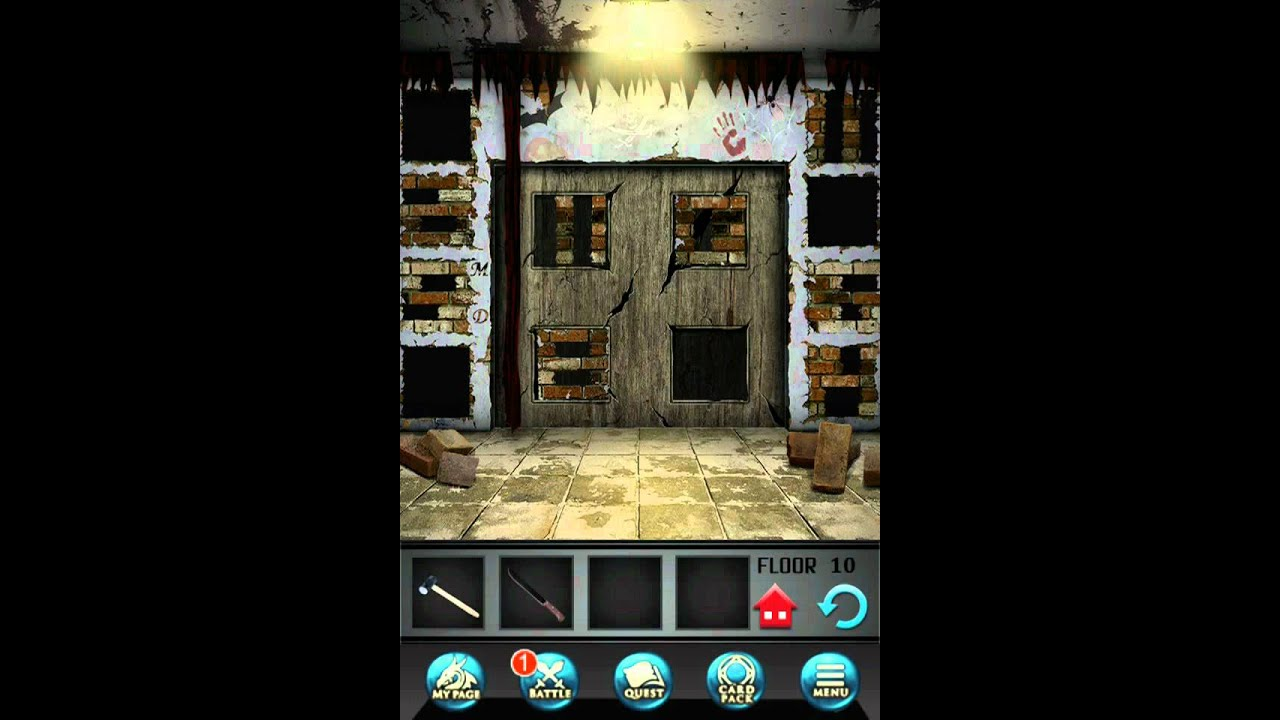 100 Floors Seasons Tower Level 10 Halloween Walkthrough