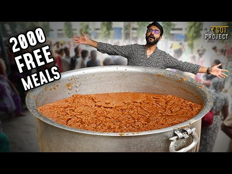 Free Lunch For 2000 People | Delhi Langar Seva Society's Special Kada Prasad | Motivational Story