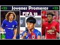 Jovenes promesas con más progreso FIFA 18 Modo carrera | +25 de media | XTheFIFA