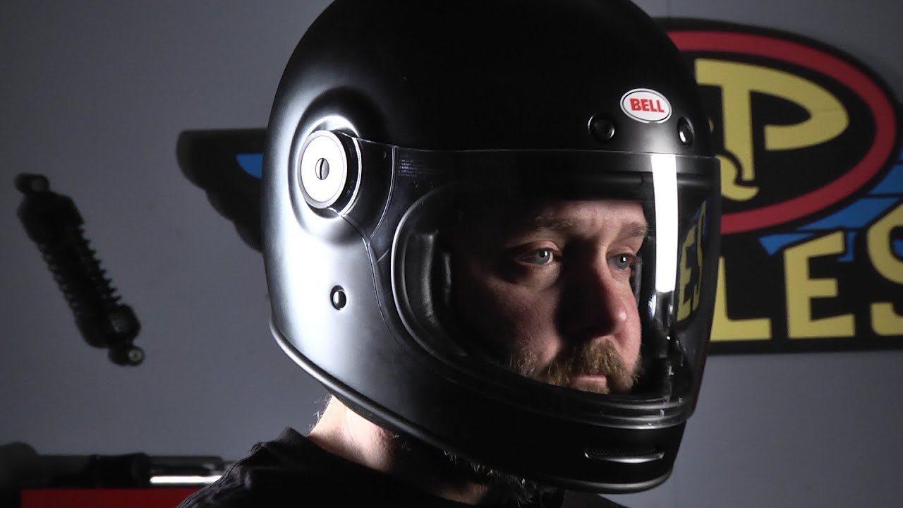 Bell Solid Black Bullitt Full Face Helmet 103 288