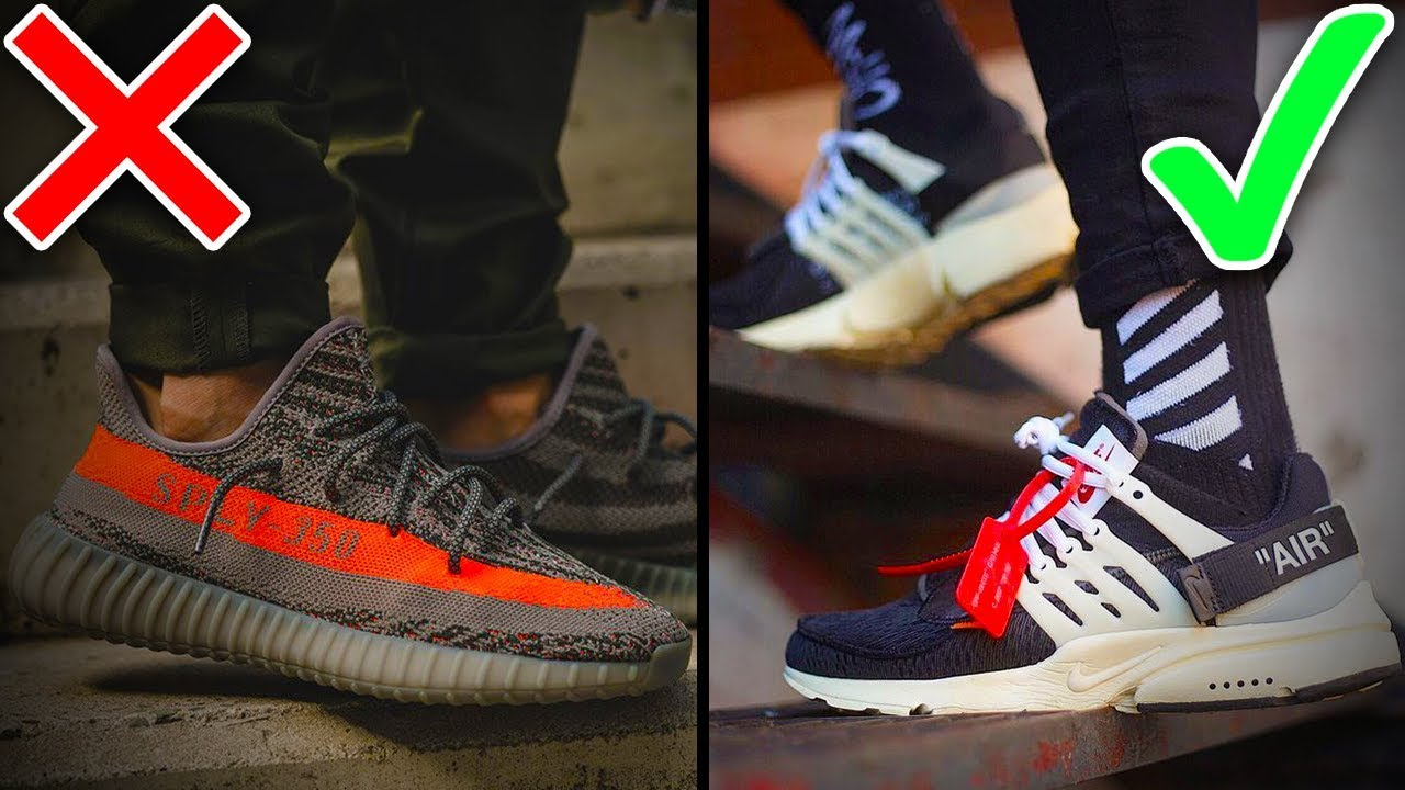 uk availability d0297 25c11 Artistry VS Innovation, Which is better? Off-White X Nike and Adidas Yeezy  Boost...Who won?
