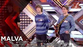 Malva arrasa con su tema original 'Ultravioleta' | Audiciones 1 | Factor X 2018